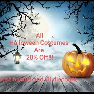 *All Halloween Costumes 20% Off*